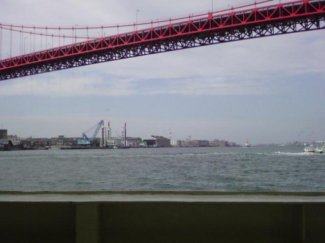 渡船に乗りました♪ 主人の子供の頃からの取って置きの場所です♪
