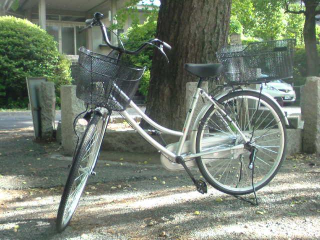 自転車買いました?